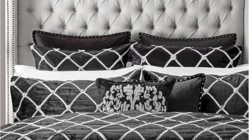 Julienne Noir European Pillowcase