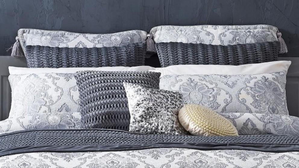 Marseilles Silver European Pillowcase