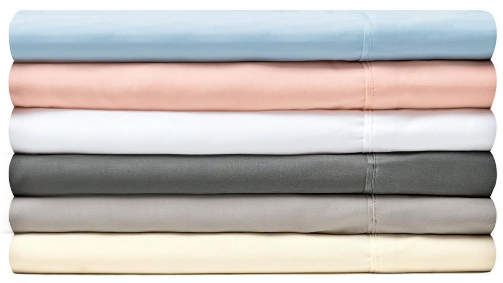 L'Avenue 300TC Single Sheet Set - Blush