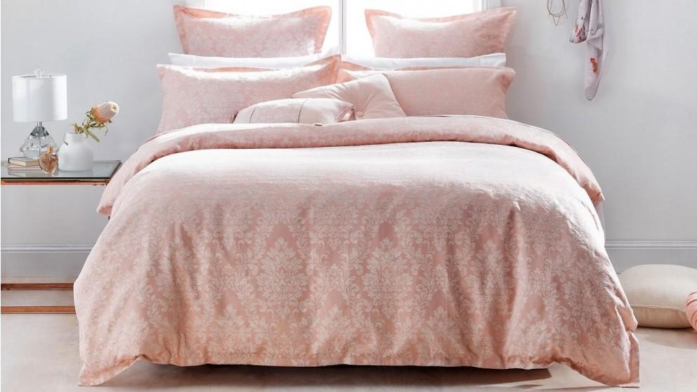 L'Avenue Paris Dusty Pink Quilt Cover Set
