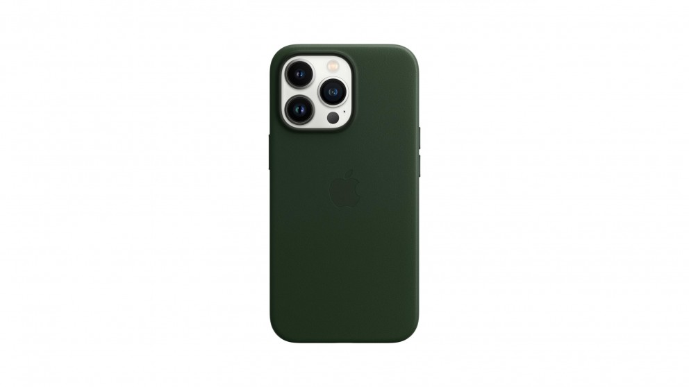 Apple iPhone 13 Pro Leather Case with MagSafe - Sequioa Green