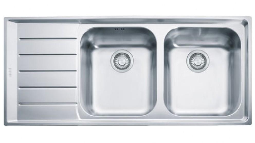 Franke Neptune NEX621 Left-Handed Stainless Steel Kitchen Sink