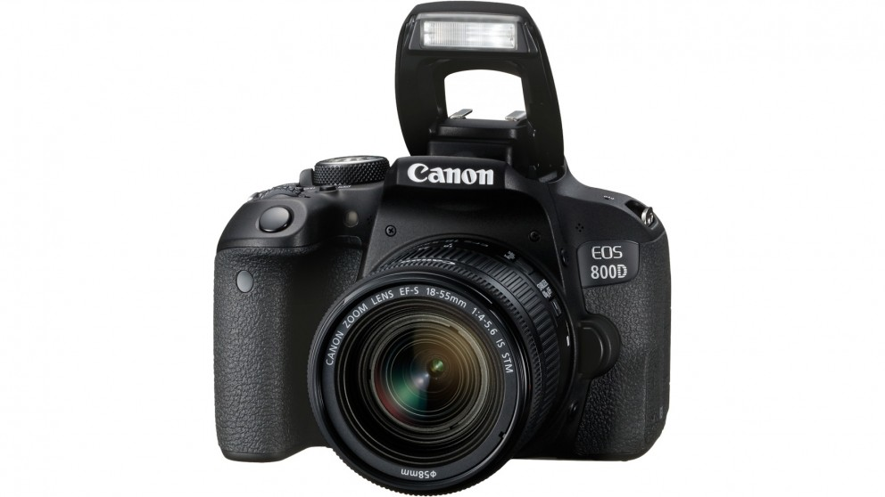 Buy Canon EOS 800D DSLR Camera with 18-55mm Single Lens ...