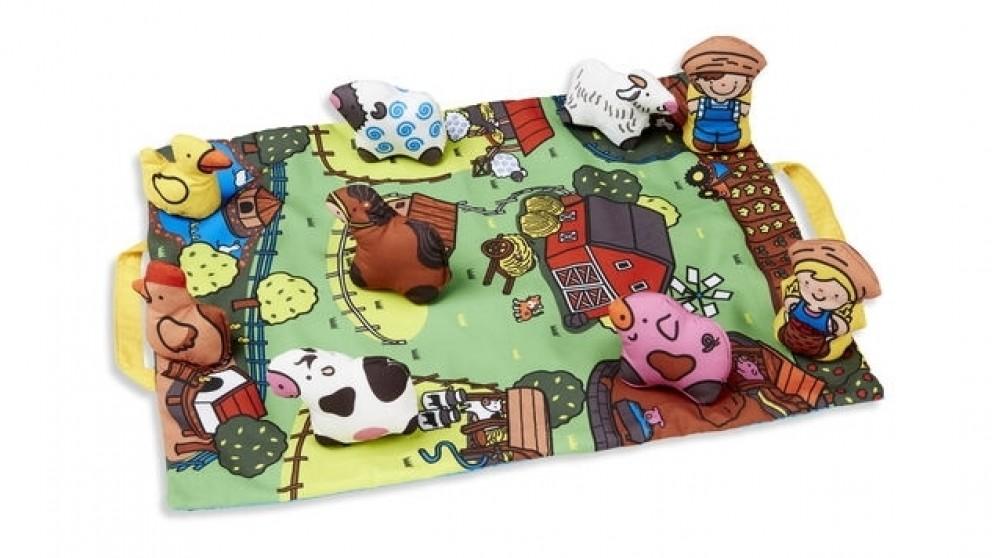 Melissa and Doug Take Along Farm Play Mat
