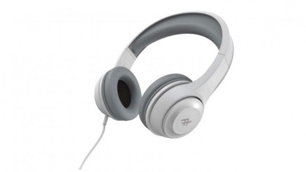 3d06116112d Buy Zagg Ifrogz Aurora Wired Over the Ear Headphones with Mic - White    Harvey Norman AU