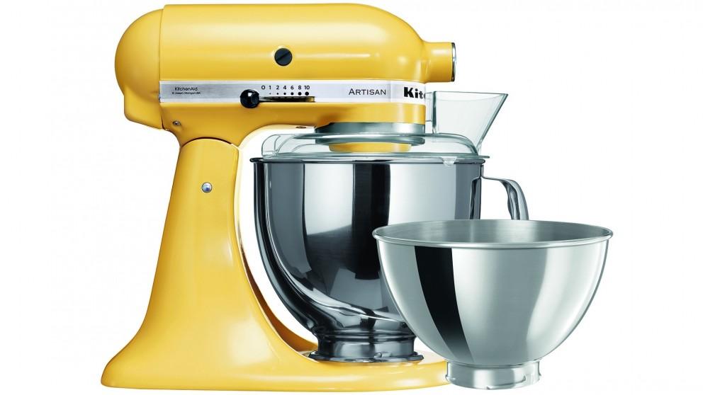 KitchenAid KSM160 Artisan Stand Mixer - Majestic Yellow