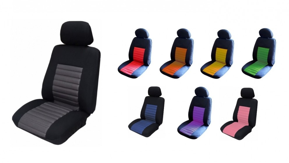 Mesh Seat Cover 12mm Foam (Fronts Only)