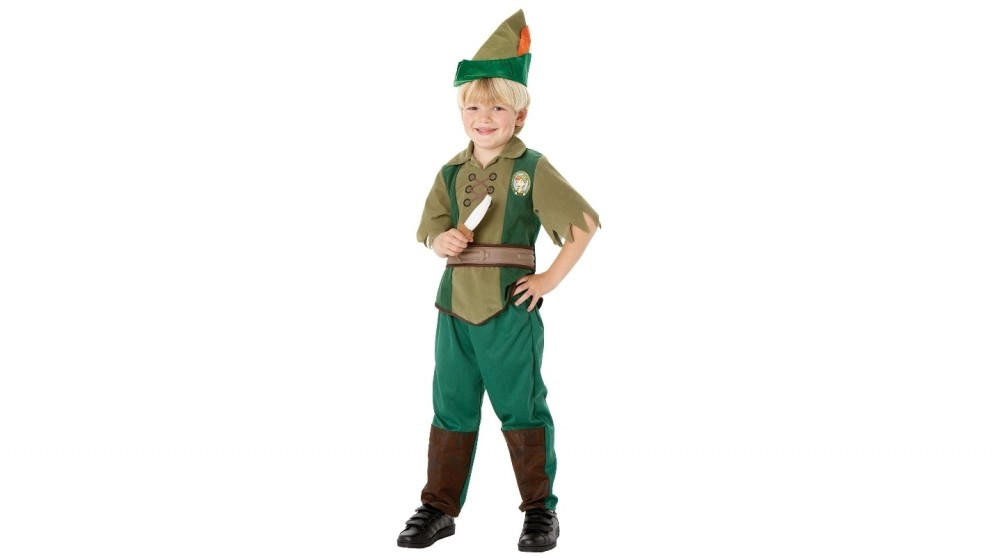 Peter Pan 3-4 years old Child Costume - Small