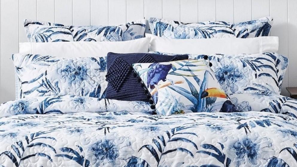 Delray Indigo European Pillowcase