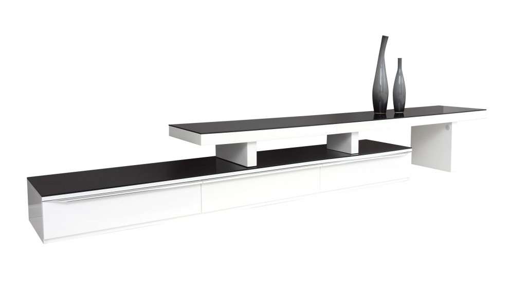 Felix Entertainment Unit - White