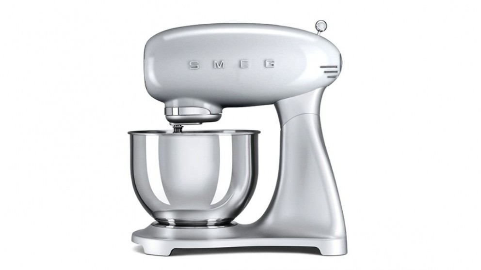 Smeg 50s Style Stand Mixer - Silver