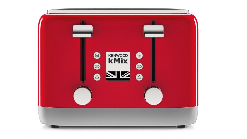 Kenwood kMix 4 Slice Toaster - Red