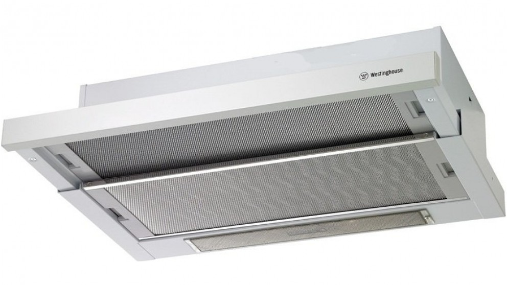 Westinghouse 600mm Slide-Out Rangehood - White