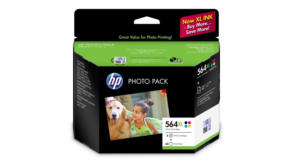 HP 564 XL Photo Value Pack Ink Cartridge