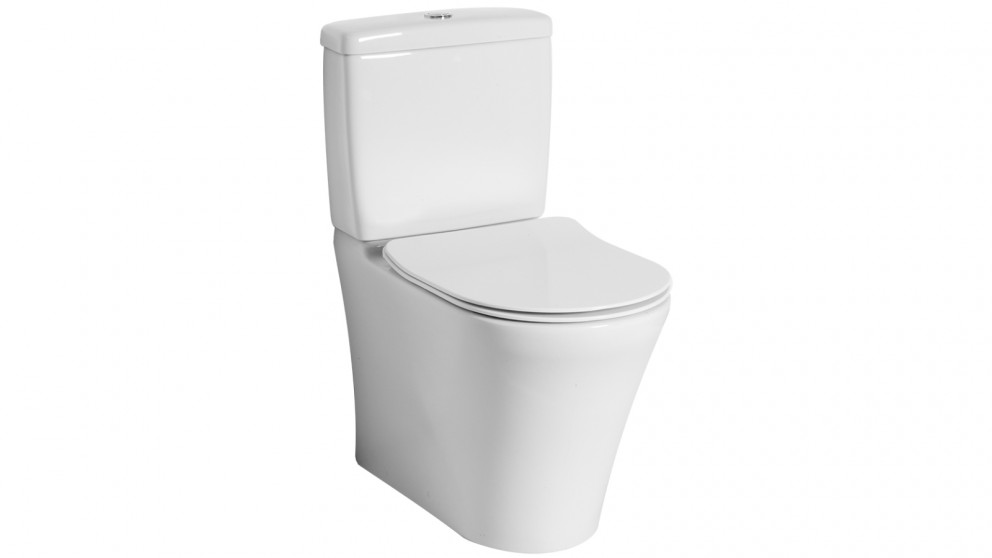 Villeroy & Boch Pavia 2.0 DirectFlush Back to Wall S Trap Slim Seat Toilet with Bottom Water Entry