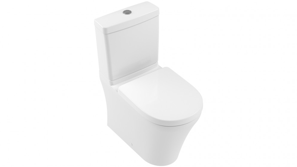 Villeroy & Boch Pavia 2.0 DirectFlush Back to Wall S Trap Toilet with Bottom Water Entry
