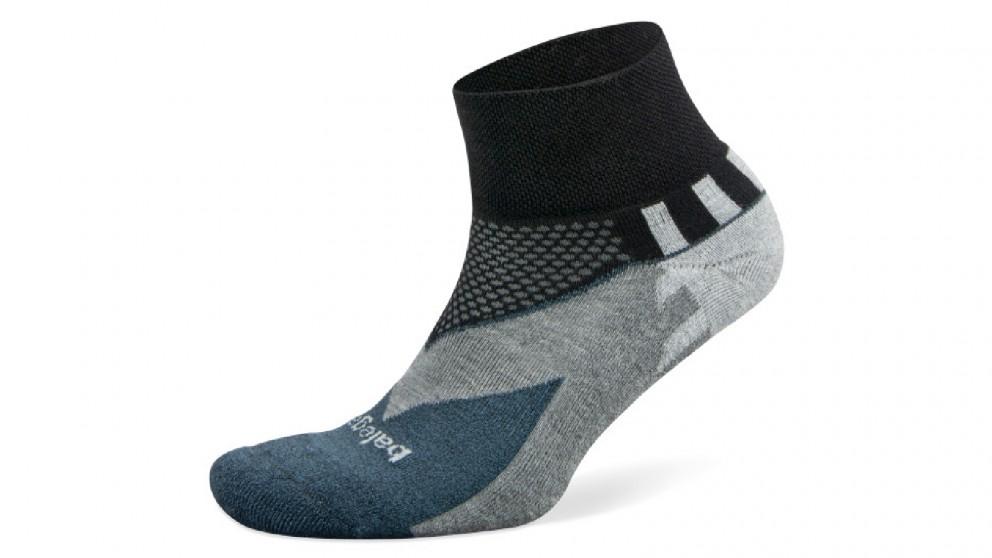 Balega Enduro V-Tech Low Cut Black Socks - Medium