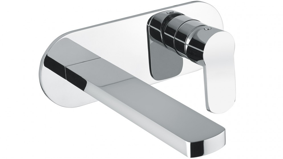 Armando Vicario Glam Wall Mixer with Basin Spout - Chrome (Italian Made)
