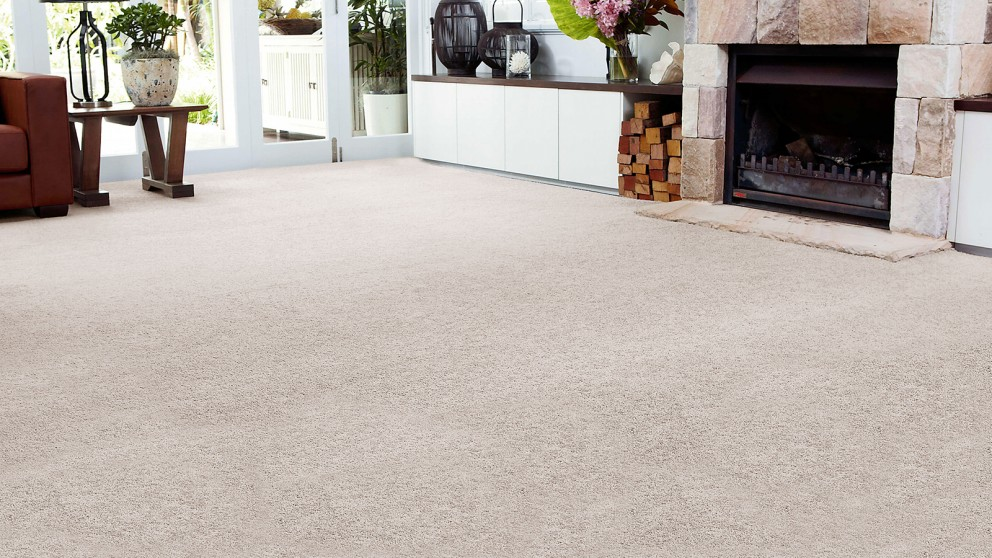 SmartStrand Forever Clean Chic - Wind Chill Carpet Flooring