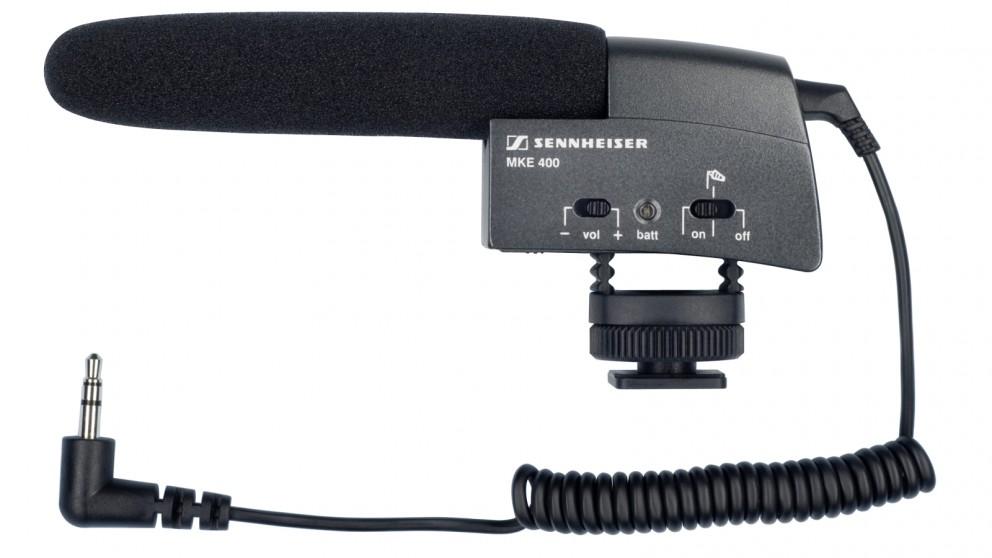 Sennheiser MKE 400 Shotgun Microphone for Camera
