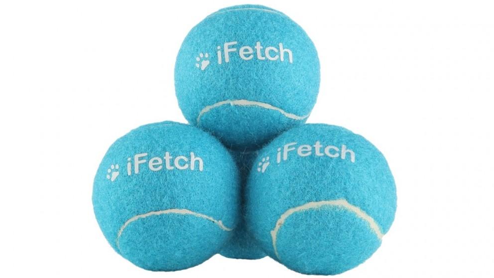 iFetch Pack of 3 Standard Tennis Ball