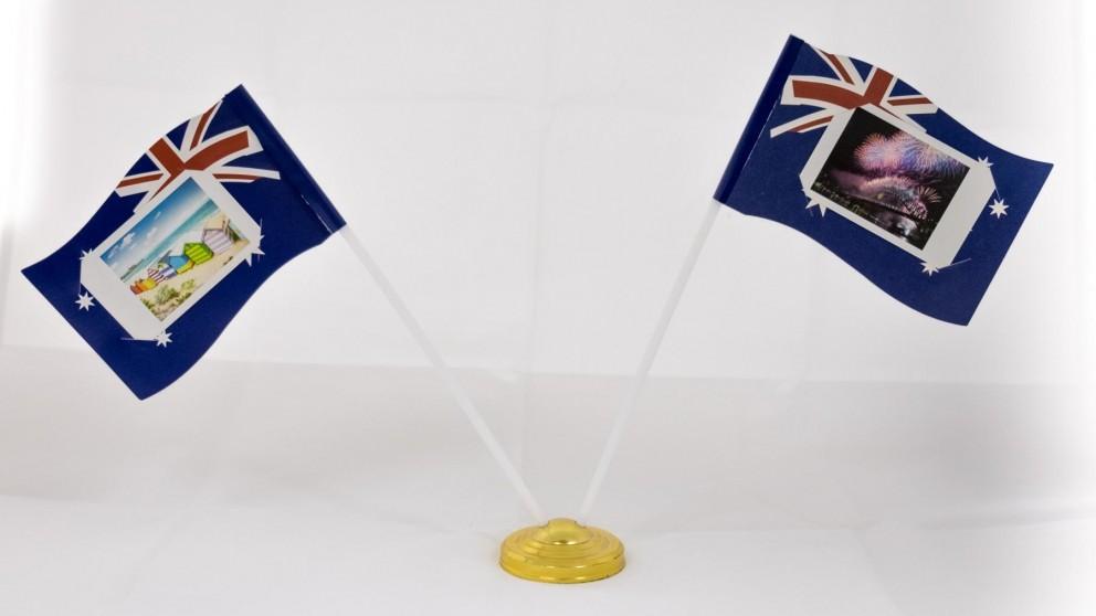 Instax Mini Flag Photo Stand - Australia