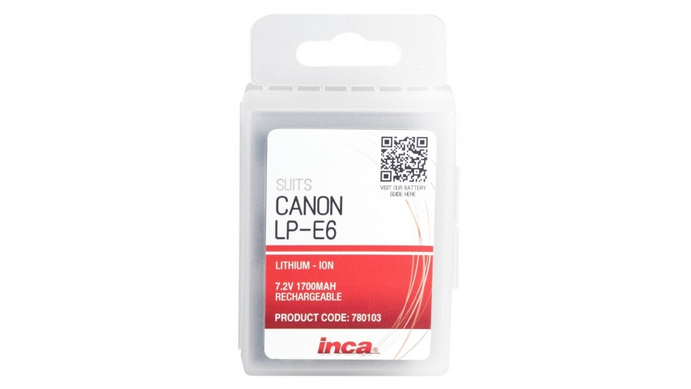 Inca LP-E6 Canon Replacement Battery