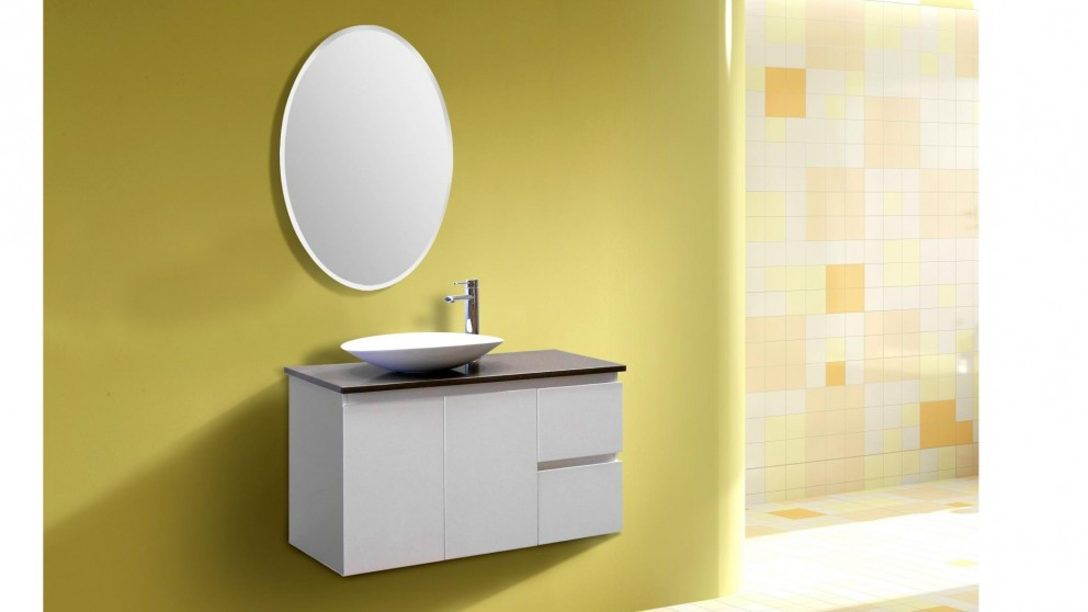 Vanity Bathroom Harvey Norman ledin havana 900mm en suite bathroom vanity - bathroom vanities