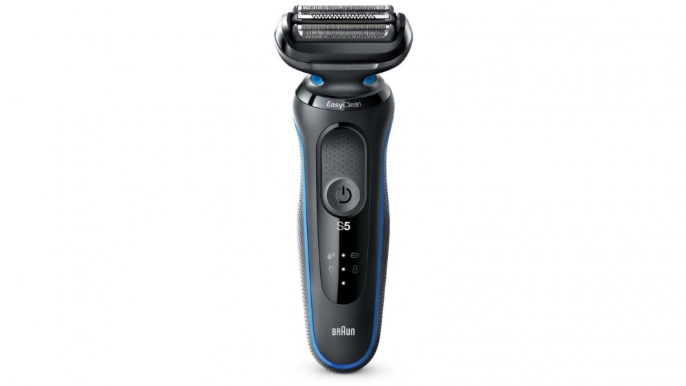 Braun Series 5 50B-1000s Wet & Dry Electric Shaver - Blue