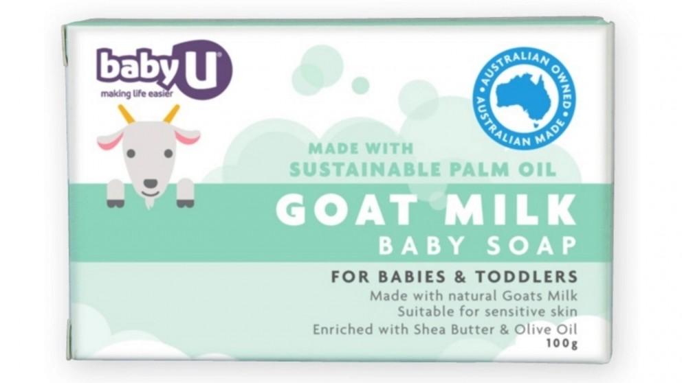 Baby U 100g Goat Milk Baby Soap