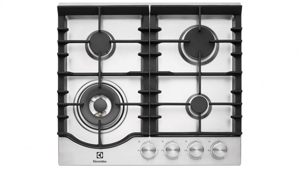 Electrolux 600mm Gas Cooktop - Stainless Steel