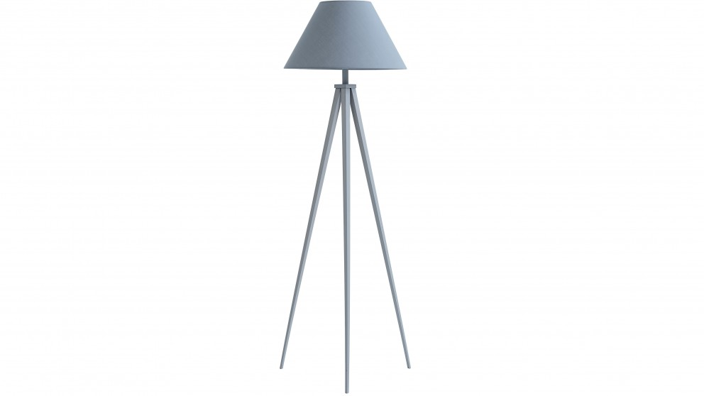 Aiden Grey Floor Lamp
