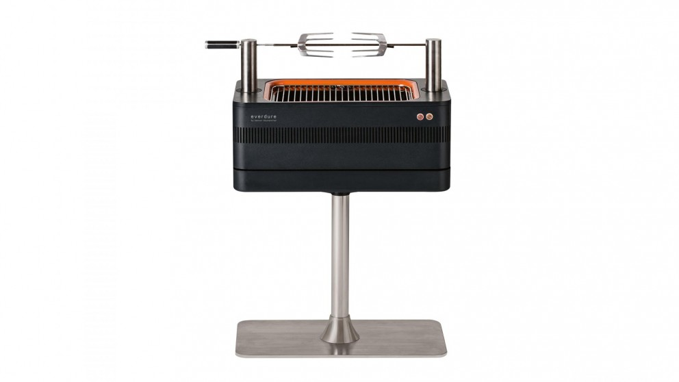Everdure by Heston Blumenthal FUSION Charcoal BBQ with Pedestal