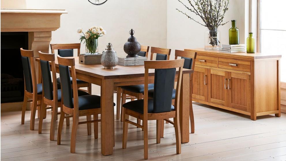 Karmen 9 Piece Rectangular Dining Setting Dining Furniture Dining Room