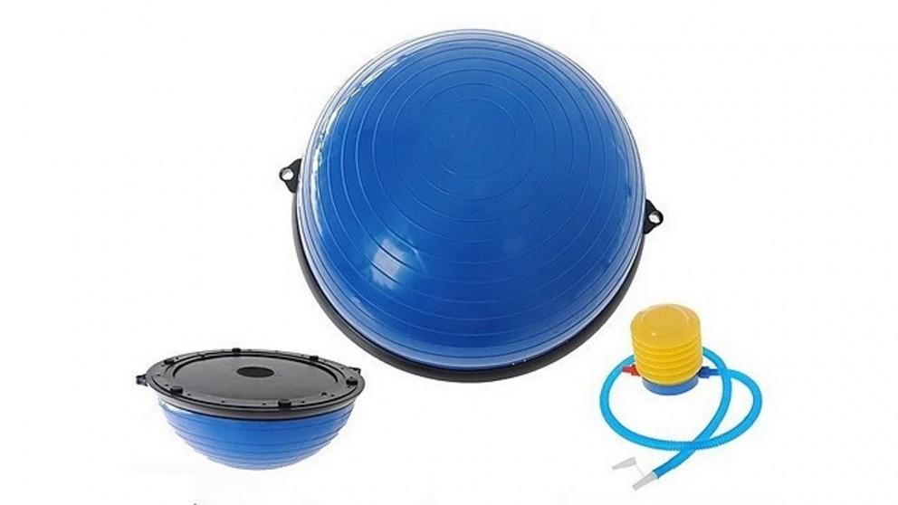 Serrano Gym Balance Core Ball with Resistance Strap