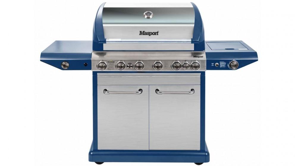 Masport Equip 6-Burner BBQ - Navy