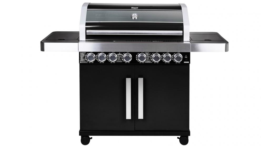 Masport MB6600 V2 6-Burner BBQ - Black