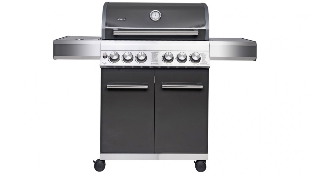 Masport Pacific 4 Burner BBQ - Grey
