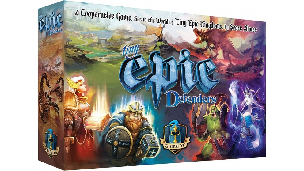 The Epic Defenders 2nd Edition Board Game