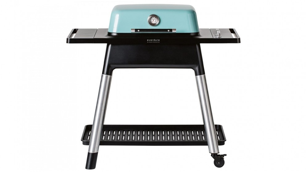 Everdure by Heston Blumenthal FORCE 2 Burner Gas BBQ with Stand - Mint