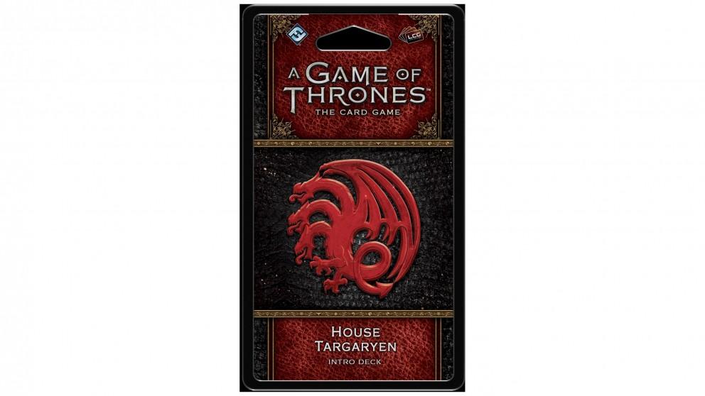 A Game of Thrones LCG House Targaryen Intro Deck