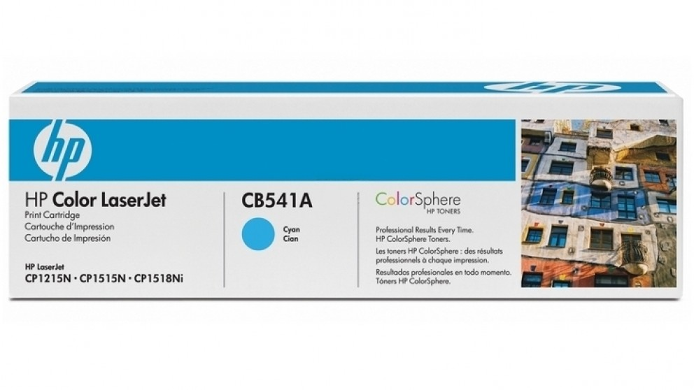 HP 125A LaserJet Toner Cartridge - Cyan