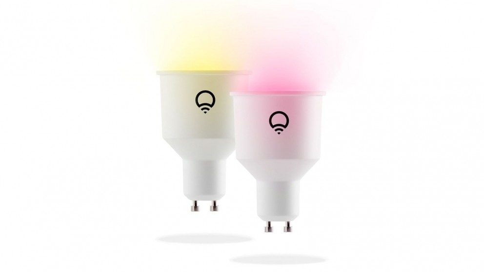LIFX GU10 2-Pack WiFi LED Smart Light Bulb