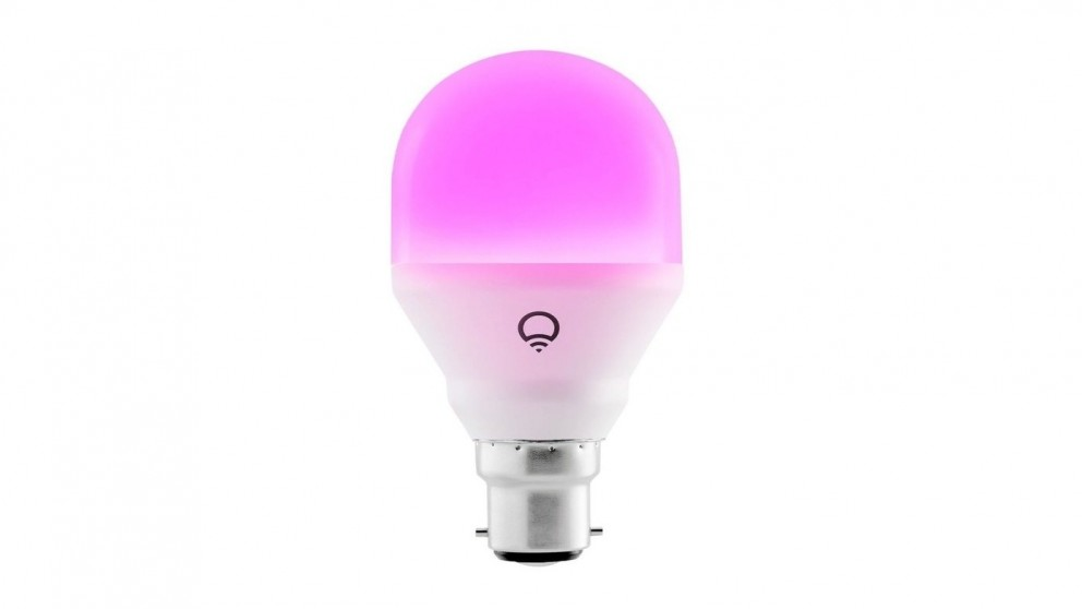 LIFX Mini Colour B22 WiFi LED Smart Light Bulb