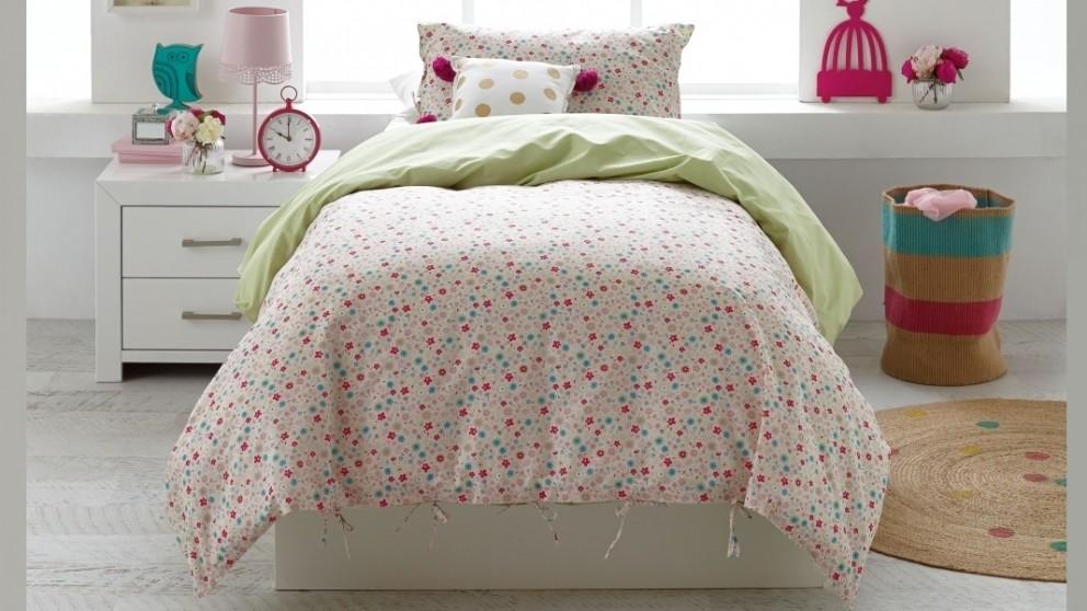 Eden Floral Double Quilt Cover Set