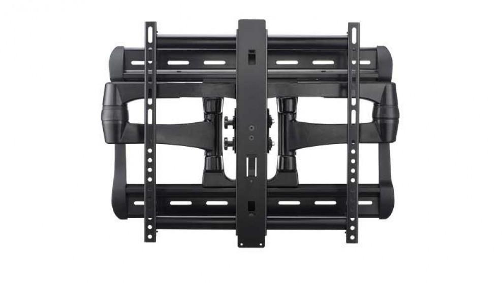 buy sanus 42 90 full motion tv wall mount black harvey norman au. Black Bedroom Furniture Sets. Home Design Ideas
