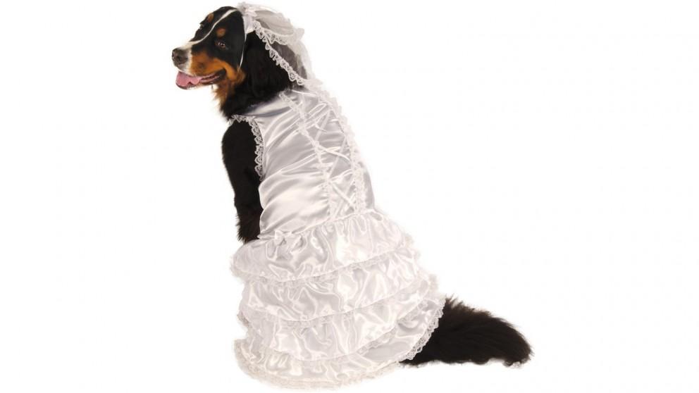 Bride Big Dog Pet Costume