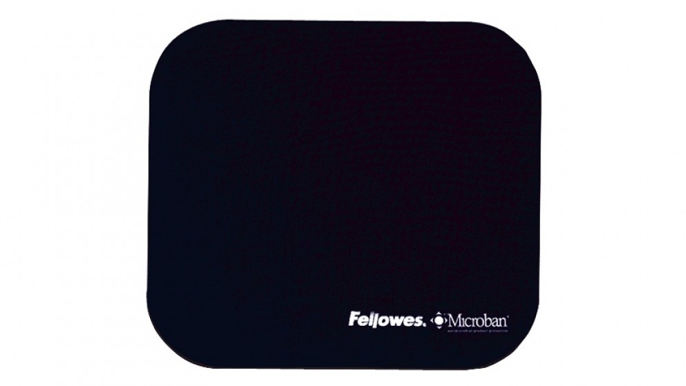 Fellowes Mouse Pad With Microban Product Protection - Navy