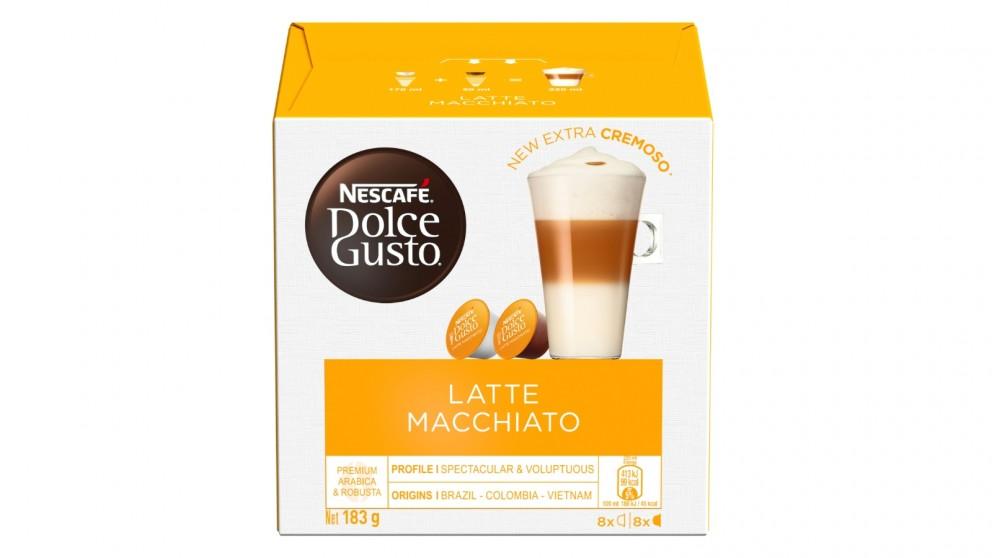 Nescafe Dolce Gusto Latte Macchiato Coffee Capsule