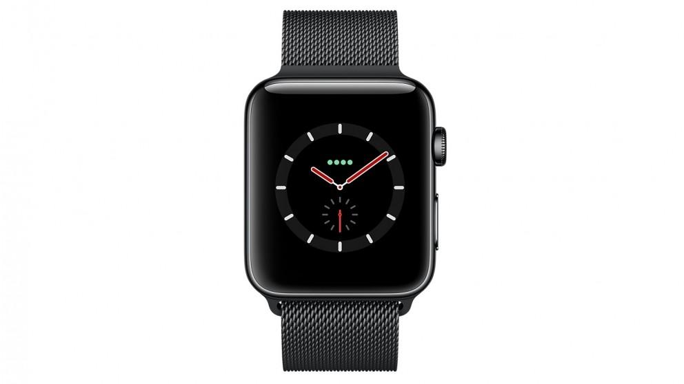 Buy Apple Watch Series 3 38mm Space Black Stainless Steel Case